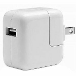 A1357 10W USB Power Adapter/Wall Charger w/Duckhead iPad iPhone USED