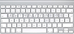 MC184LL/A-HU-A Hungarian A1314 Ultra Slim Bluetooth Keyboard (Compact) No Numeric Pad Grade A