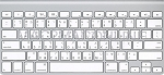 MC184LL/A-TW-A Taiwanese A1314 Ultra Slim Bluetooth Keyboard (Compact) No Numeric Pad Grade Aboard (Compact) No Numeric Pad Grade A