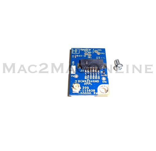 "922-8823 20""/24"" iMac & 13"" MacBook C2D Bluetooth Board Mid Early 2009/Mid 2009"